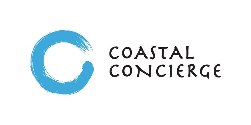 Trebor Logo Design Coastal Concierge