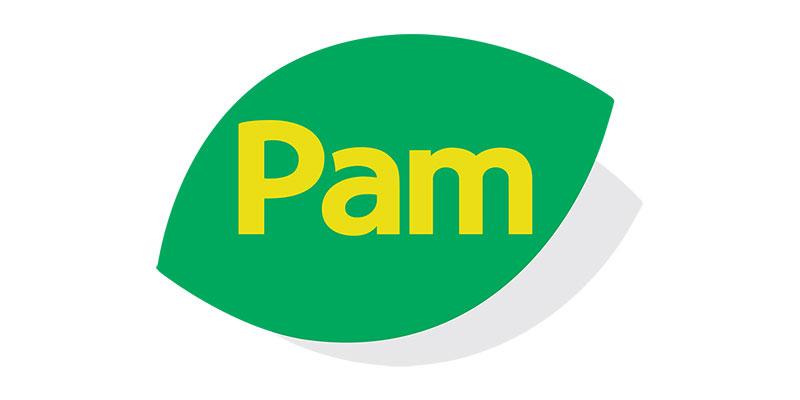 Trebor Logo Design PAM Supermarkets