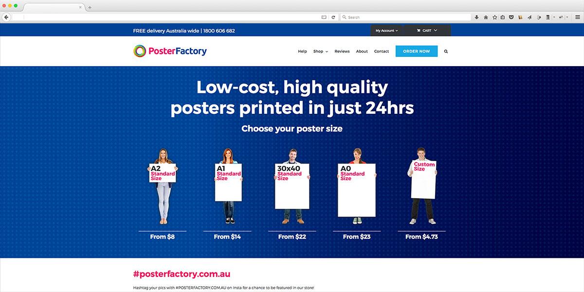 Online Poster Printing - Trebor Design